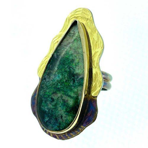 Ananooka Opal Ring