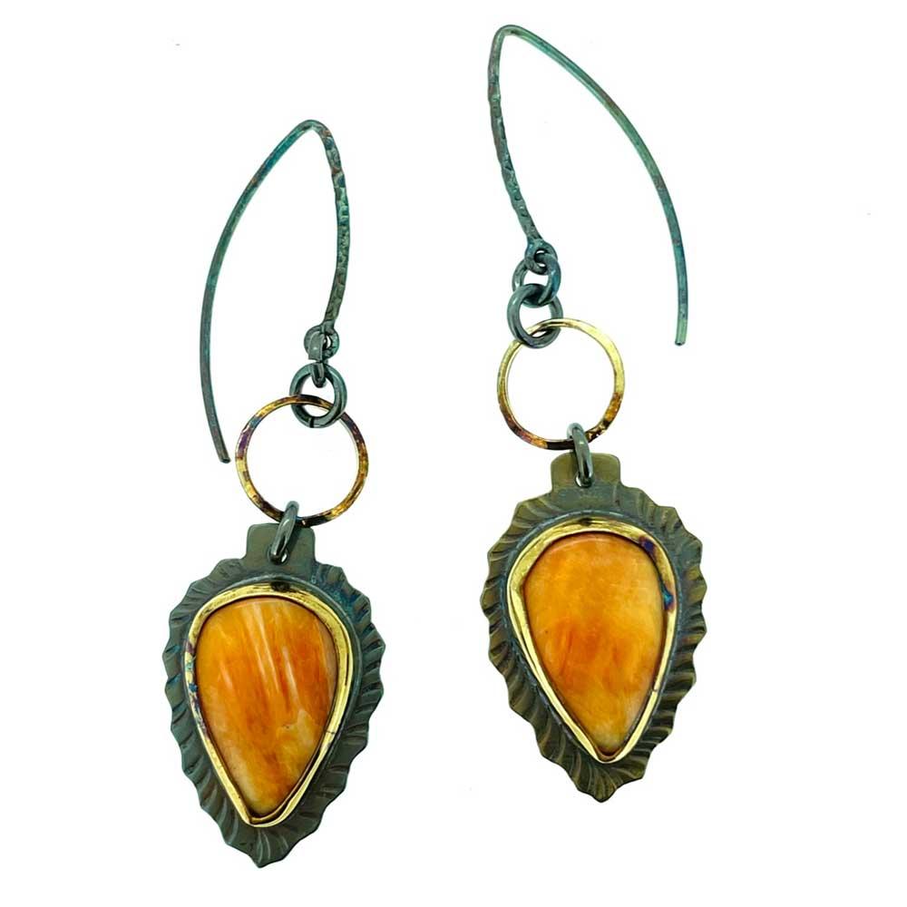 Spiney Oyster Earrings