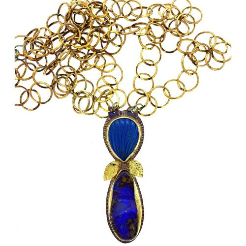 Lapis and Opal Necklace